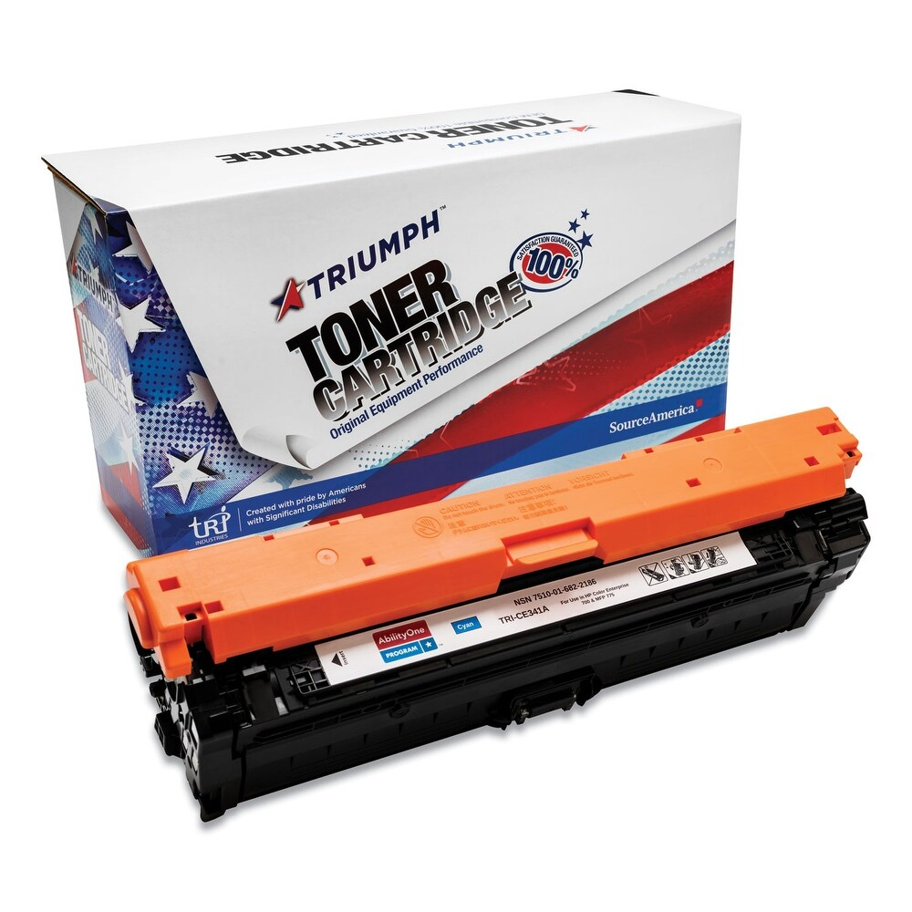 Compatible HP CE341A (651A) Toner Cartridge (Yellow)