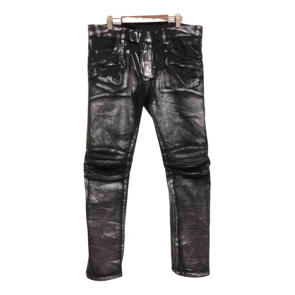 Balmain \N Cotton - elasthane Jeans for Men 32 US