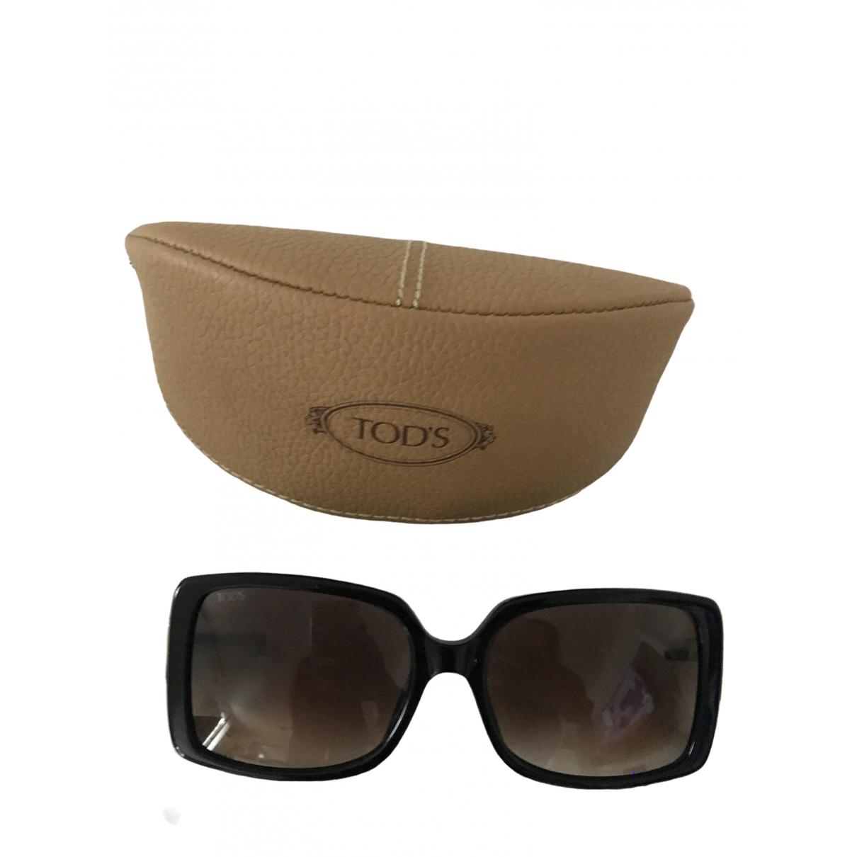 Tod's \N Black Metal Sunglasses for Women \N