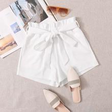 Shorts mit Tasche und Selbstguertel