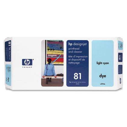 HP 81 C4954A cartouche d'encre originale cyan clair
