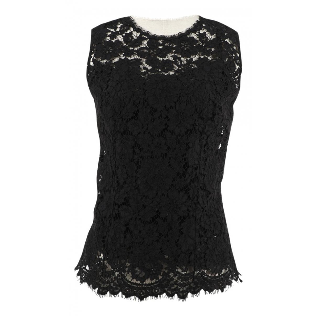 Dolce & Gabbana \N Black Lace  top for Women 38 IT