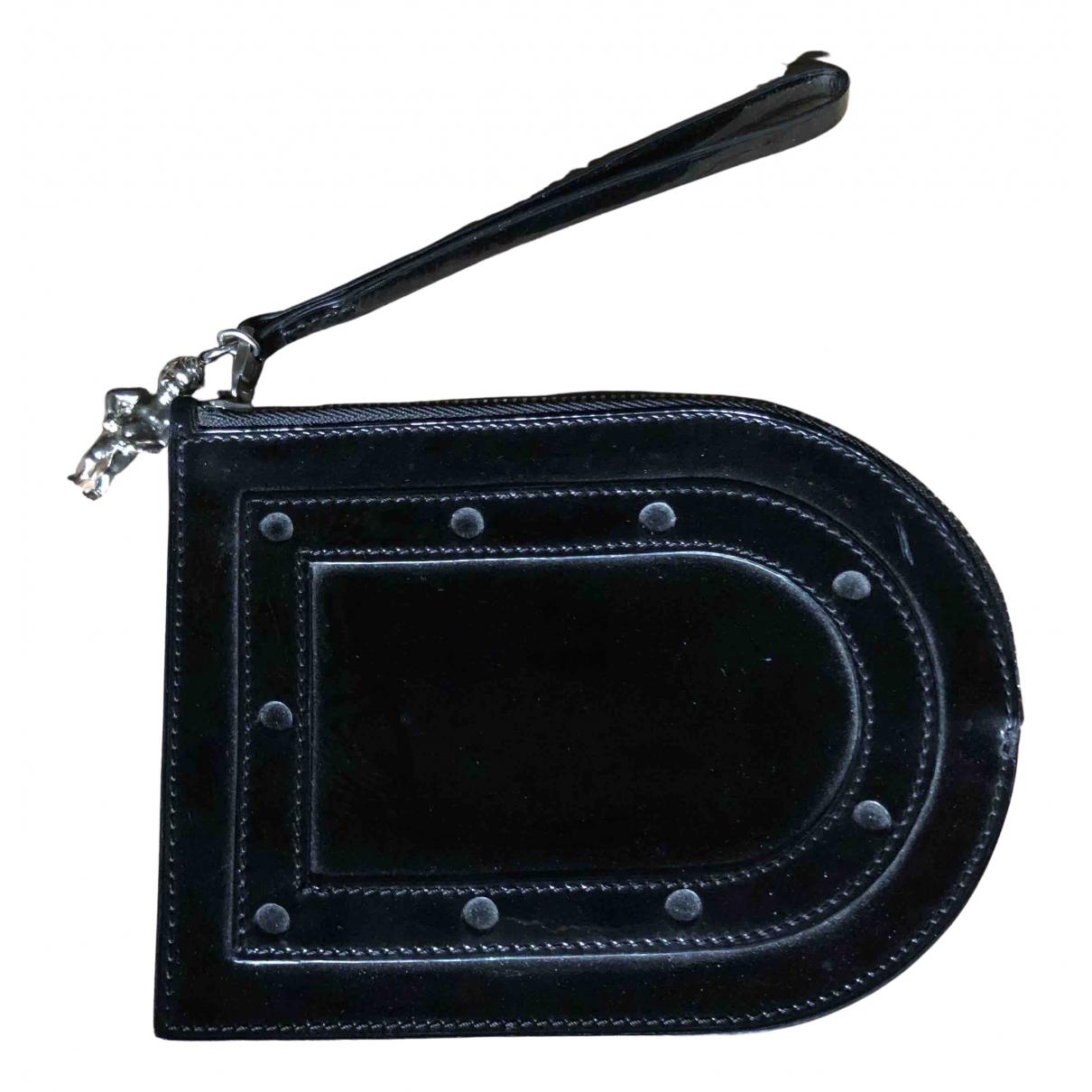 Delvaux N Black Patent leather Purses, wallet & cases for Women N