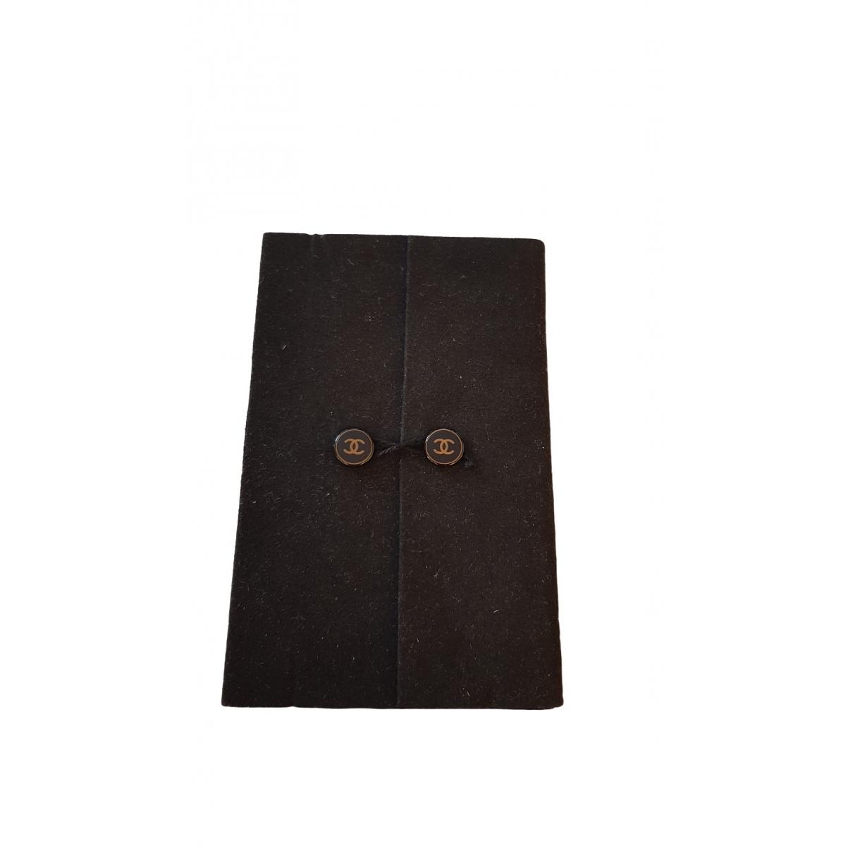 Chanel \N Accessoires und Dekoration in  Schwarz Baumwolle