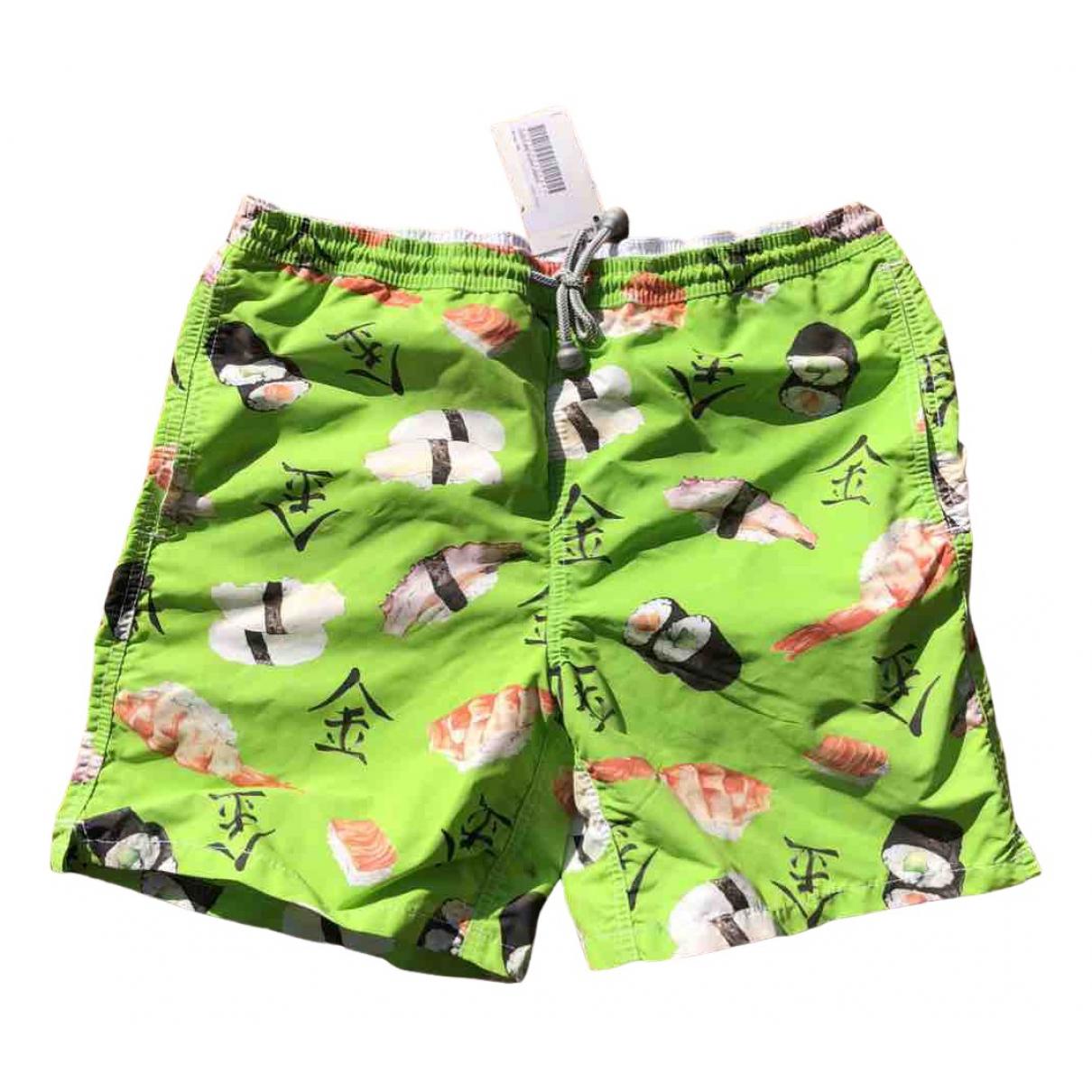Mc2 Saint Barth \N Shorts in  Gruen Polyester