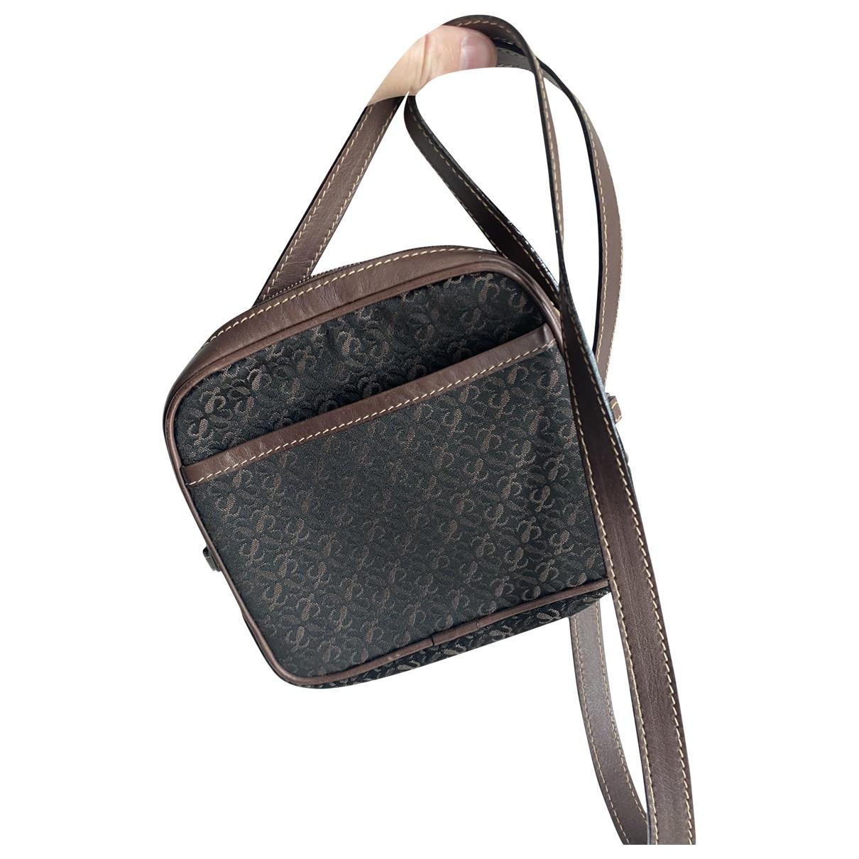 Loewe \N Brown Cloth handbag for Women \N