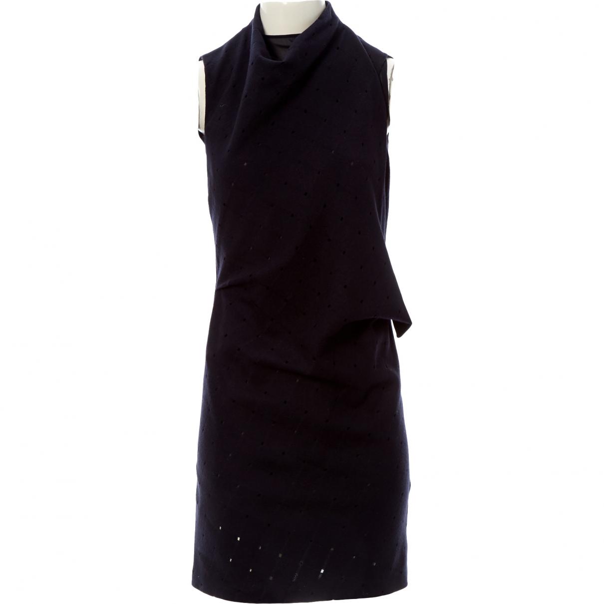 Calvin Klein - Robe   pour femme en laine - noir
