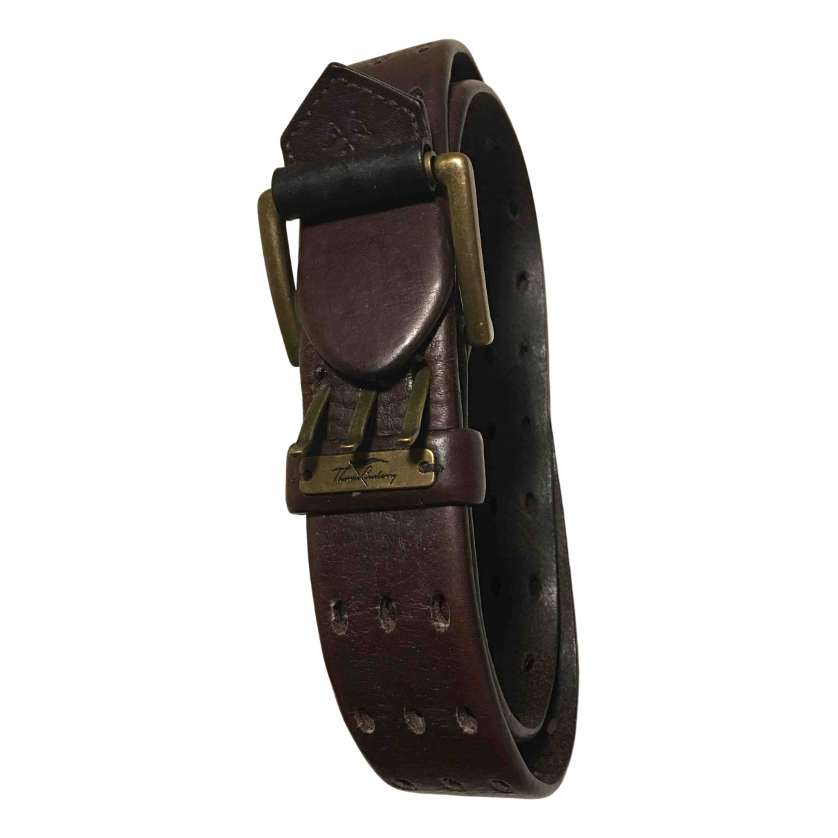 Burberry \N Brown Leather belt for Women 95 cm