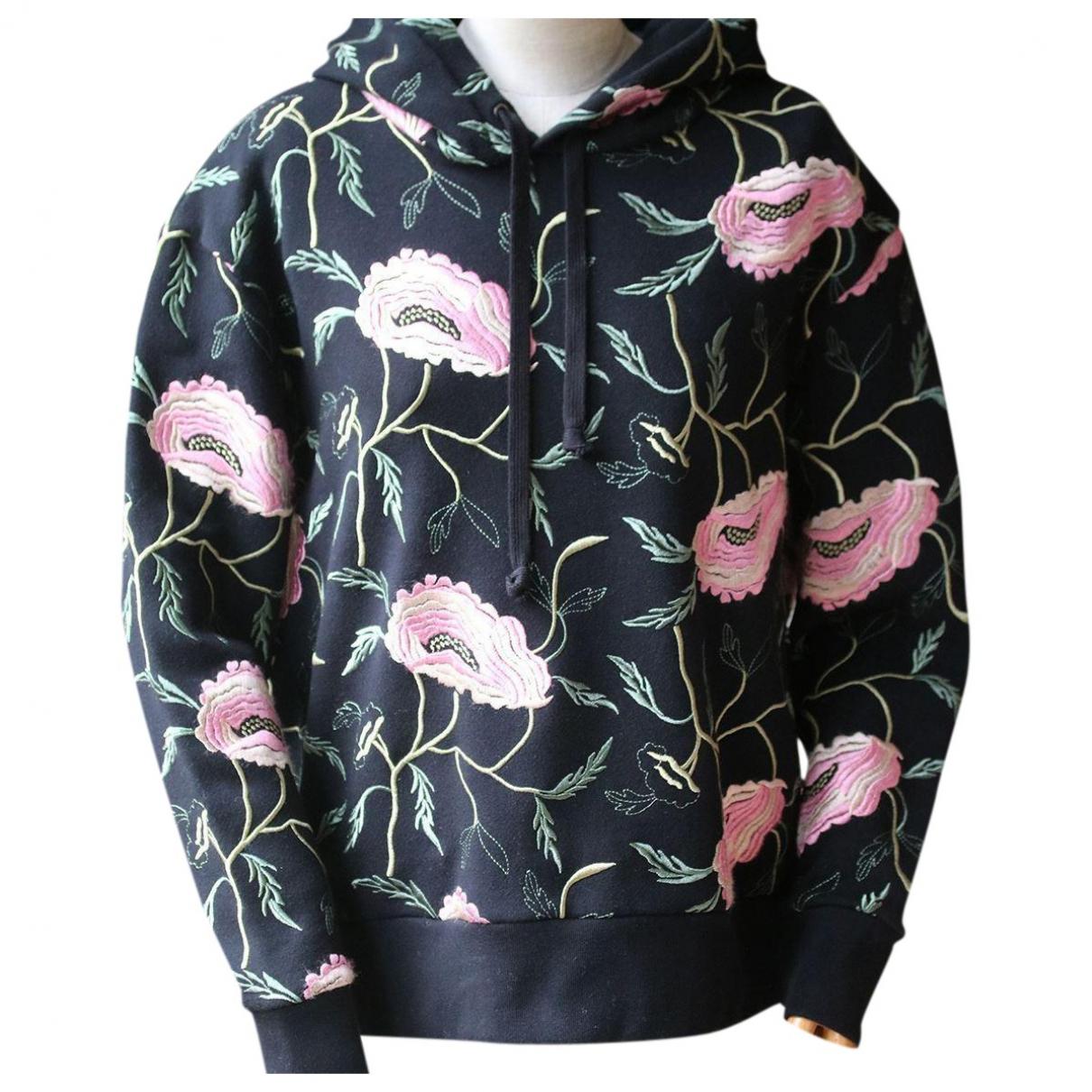 Gucci - Pull   pour femme en coton - noir