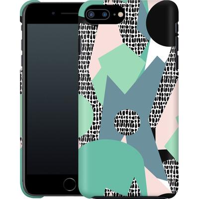 Apple iPhone 8 Plus Smartphone Huelle - Mountains von Jenna Kunnas