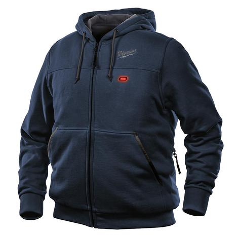 Milwaukee M12™ Heated Hoodie Only L (Navy Blue)