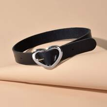 Halsband mit Herzen und Schnalle Dekor