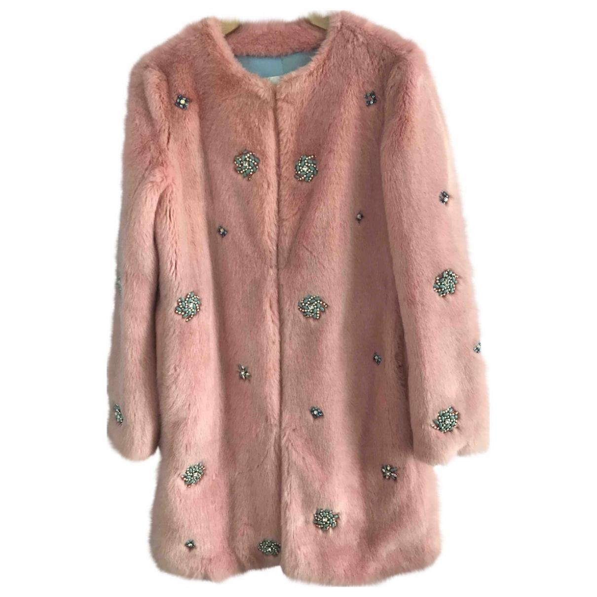 Zara - Manteau   pour femme - rose