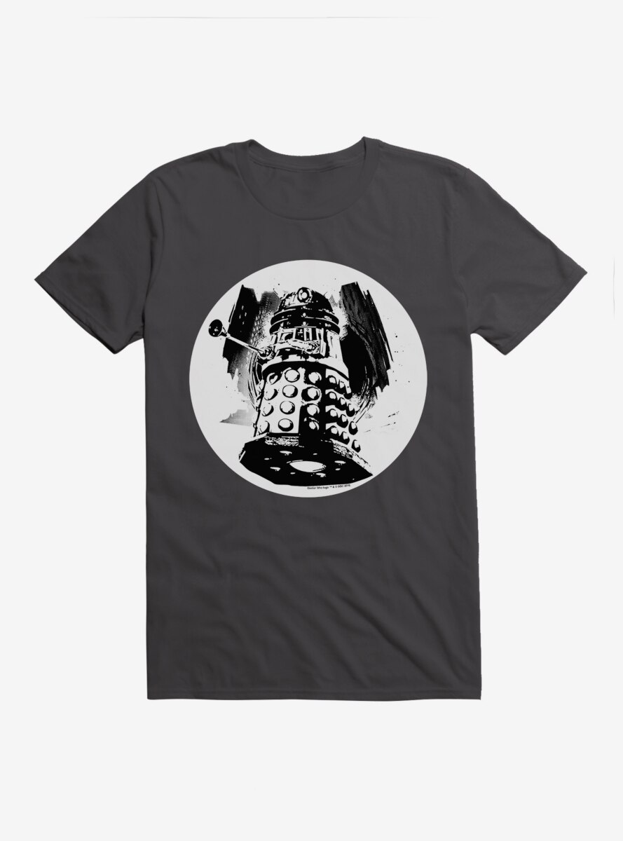 Doctor Who Dalek Smudge Art T-Shirt