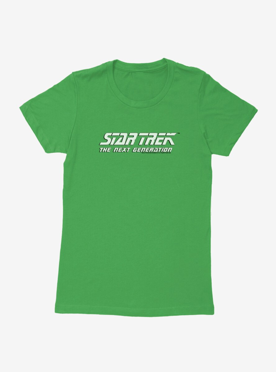 Star Trek The Next Generation Bold Logo Womens T-Shirt