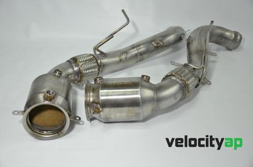 VelocityAP VEL-MCLAREN200CELL McLaren 200 Cell Ultra-High Temp Sport Catalyst Pipes