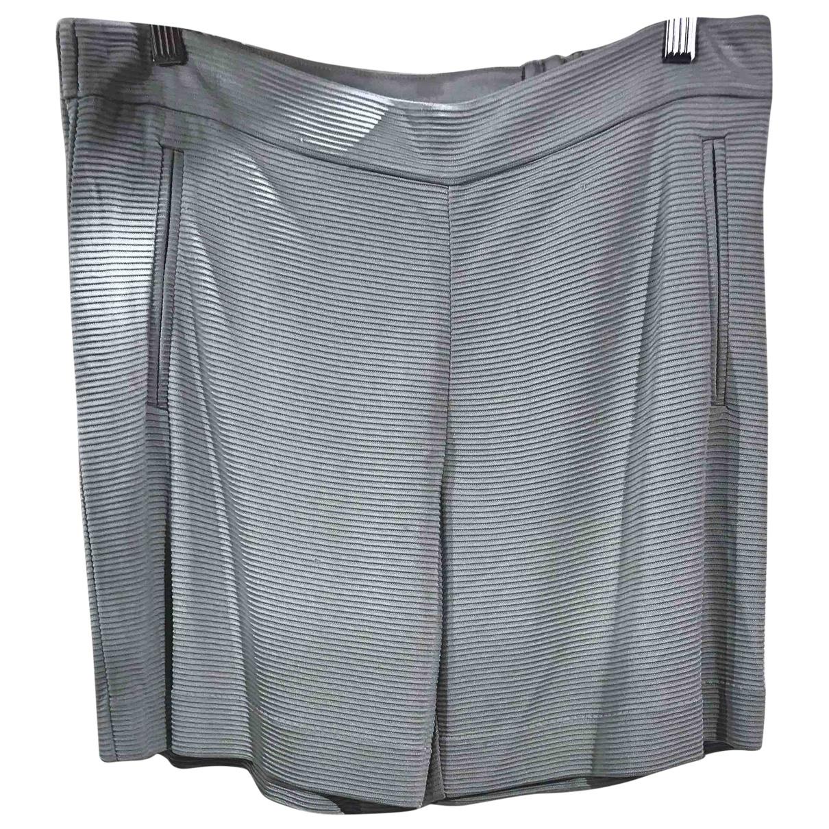 Emporio Armani \N Grey Shorts for Women 44 IT