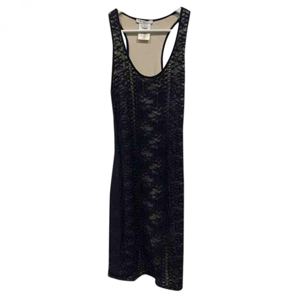 Givenchy \N Kleid in  Schwarz Synthetik