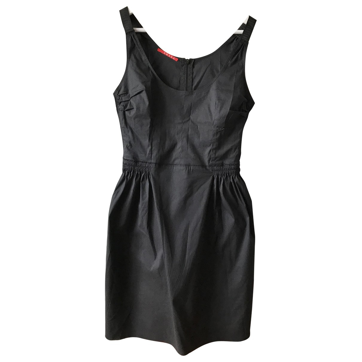 Prada \N Black Cotton dress for Women 32 FR