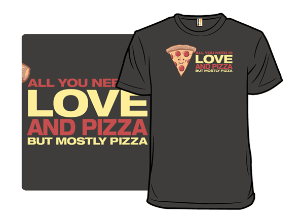 Love And Pizza T Shirt