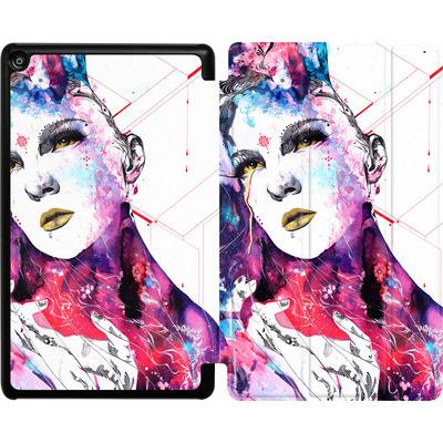 Amazon Fire HD 8 (2018) Tablet Smart Case - The Flow In Us von Minjae Lee