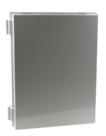 Fibox CAB PC, Polycarbonate Wall Box, IP65, 180mm x 400 mm x 300 mm, Grey