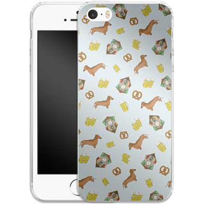 Apple iPhone 5s Silikon Handyhuelle - Germany von caseable Designs