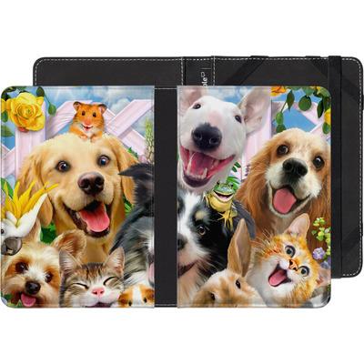 Sony Reader PRS-T3 eBook Reader Huelle - Selfie Backyard Pals von Howard Robinson
