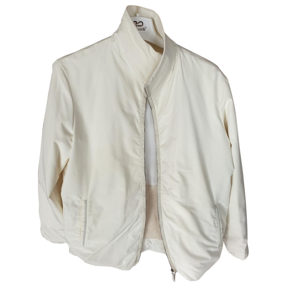 Agnona \N White jacket for Women 44 FR