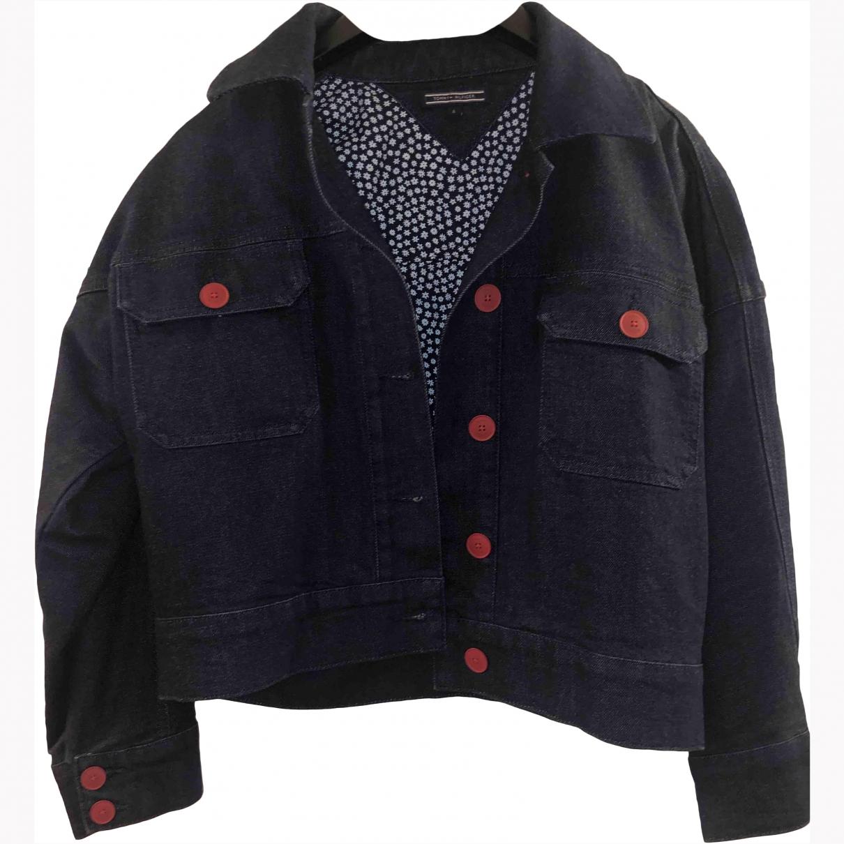 Tommy Hilfiger \N Blue Denim - Jeans jacket for Women S International