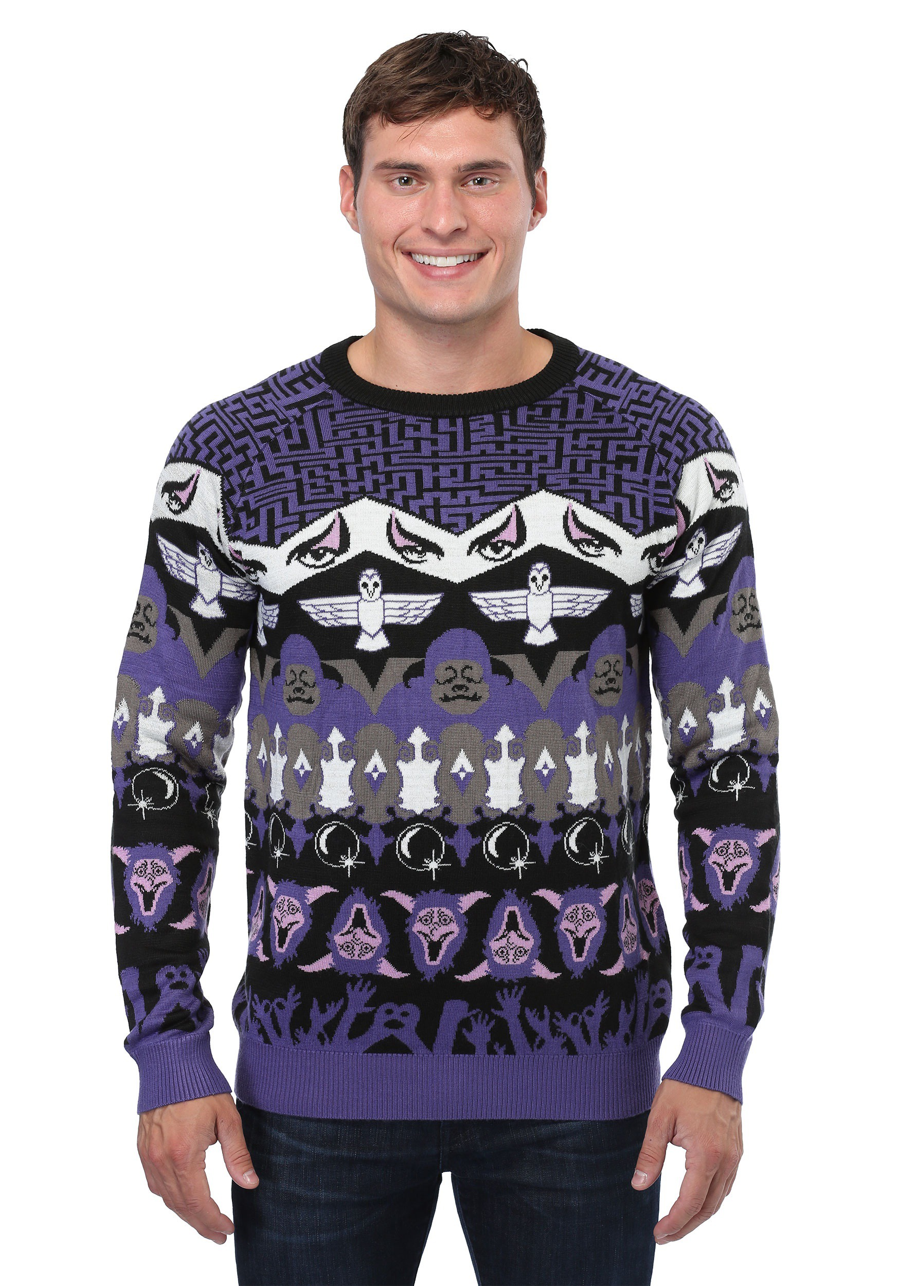 Labyrinth Character Ugly Christmas Sweater