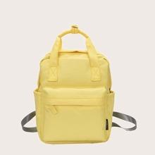 Minimalistischer Rucksack und Griff