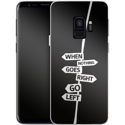 Samsung Galaxy S9 Silikon Handyhuelle - When Nothing Goes Right von We Make The Cake
