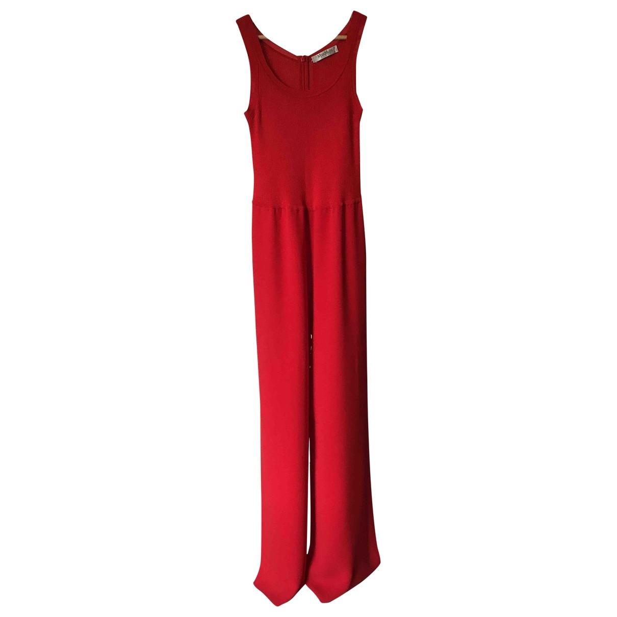 Max Mara - Combinaison   pour femme - rouge