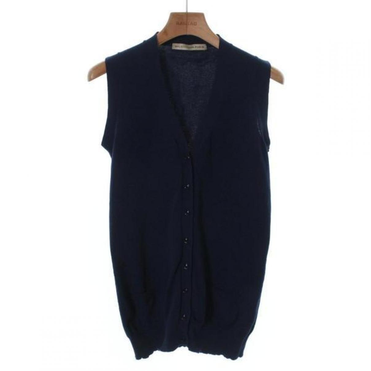 Balenciaga \N Pullover in  Blau Synthetik