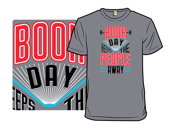 A Book A Day T Shirt