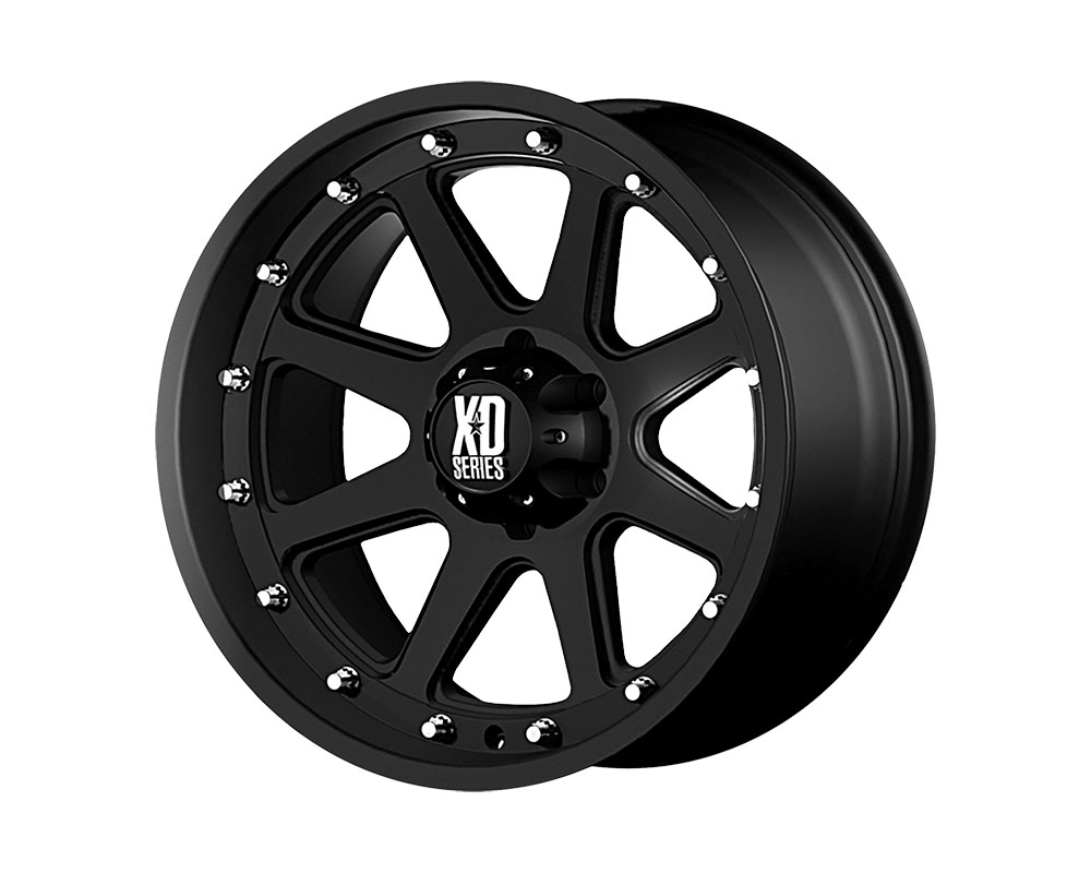 XD Series XD79879068712N XD798 Addict Wheel 17x9 6x6x139.7 -12mm Matte Black