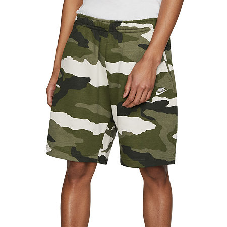 Nike Camo Mens Pull-On Short, Medium , Green