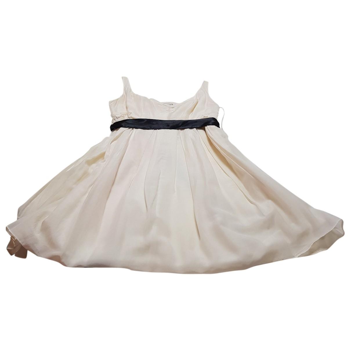 Guess \N Kleid in  Ecru Polyester