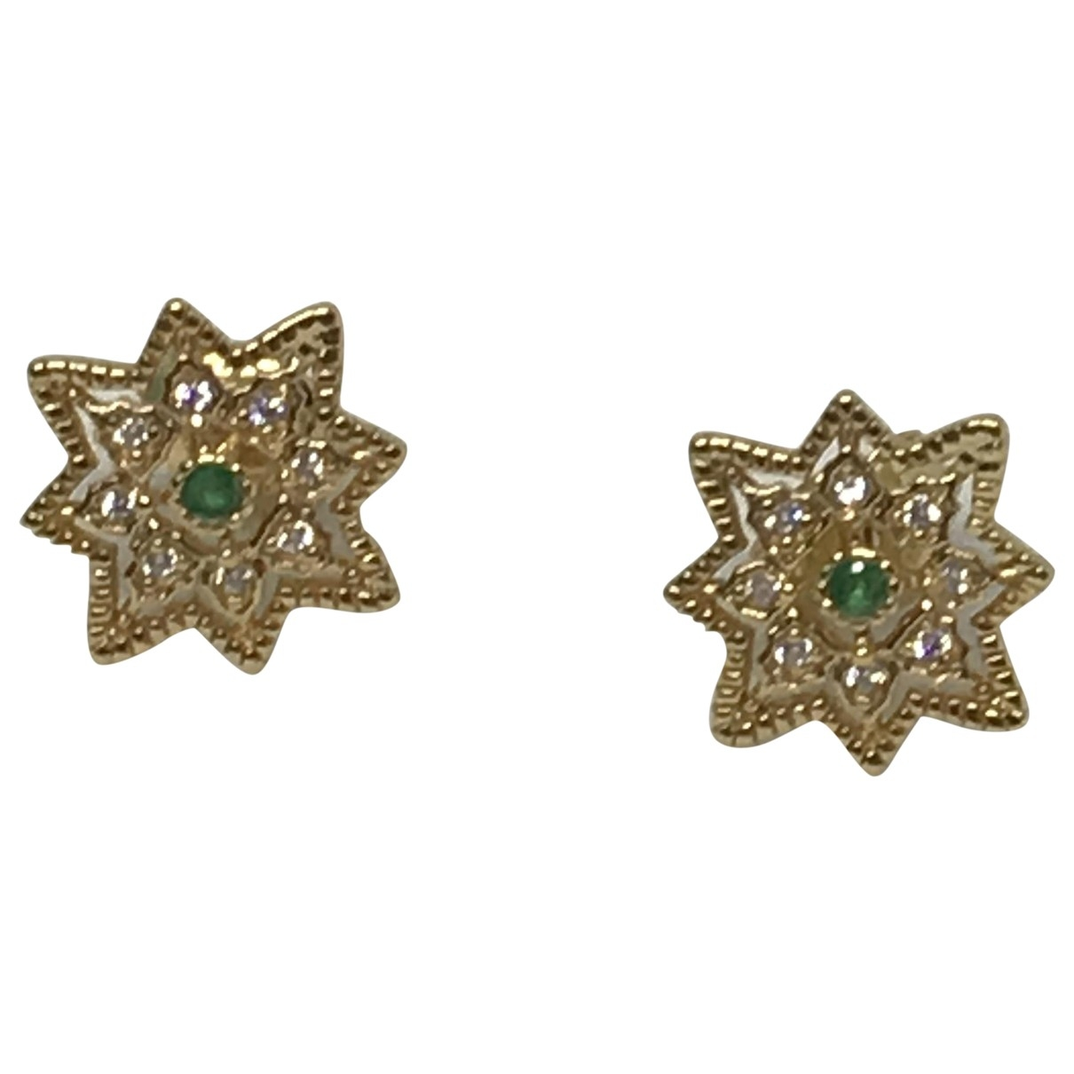 No Collection \N Gold Silver Earrings for Women \N