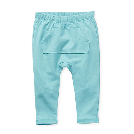 Okie Dokie Baby Boys Straight Pull-On Pants, 24 Months , Blue