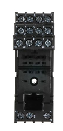 TE Connectivity 4 Pin Relay Socket, 240V ac for use with PT5 Series