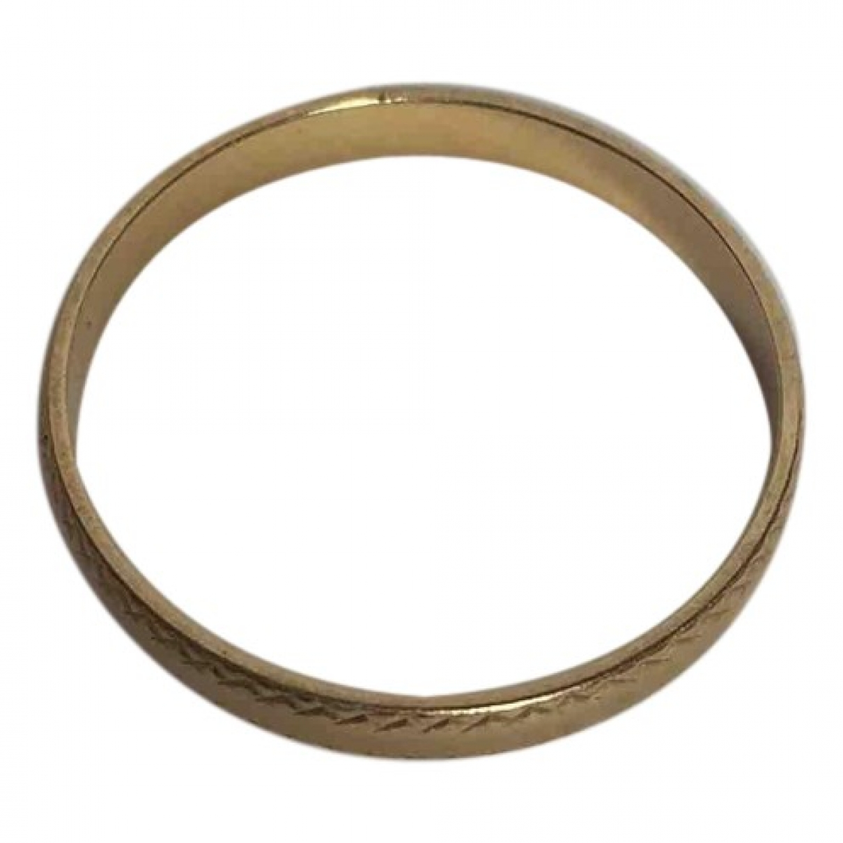 Non Signé / Unsigned Alliance Gold Yellow gold ring for Women 52 MM