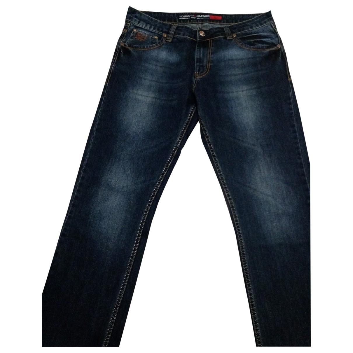Tommy Hilfiger \N Blue Cotton - elasthane Jeans for Men 52 IT