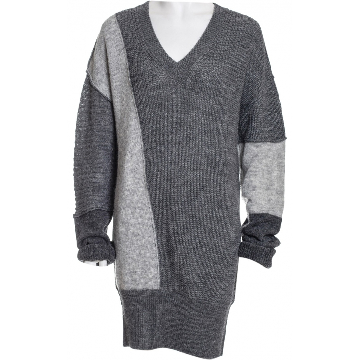 Mcq \N Kleid in  Anthrazit Polyester