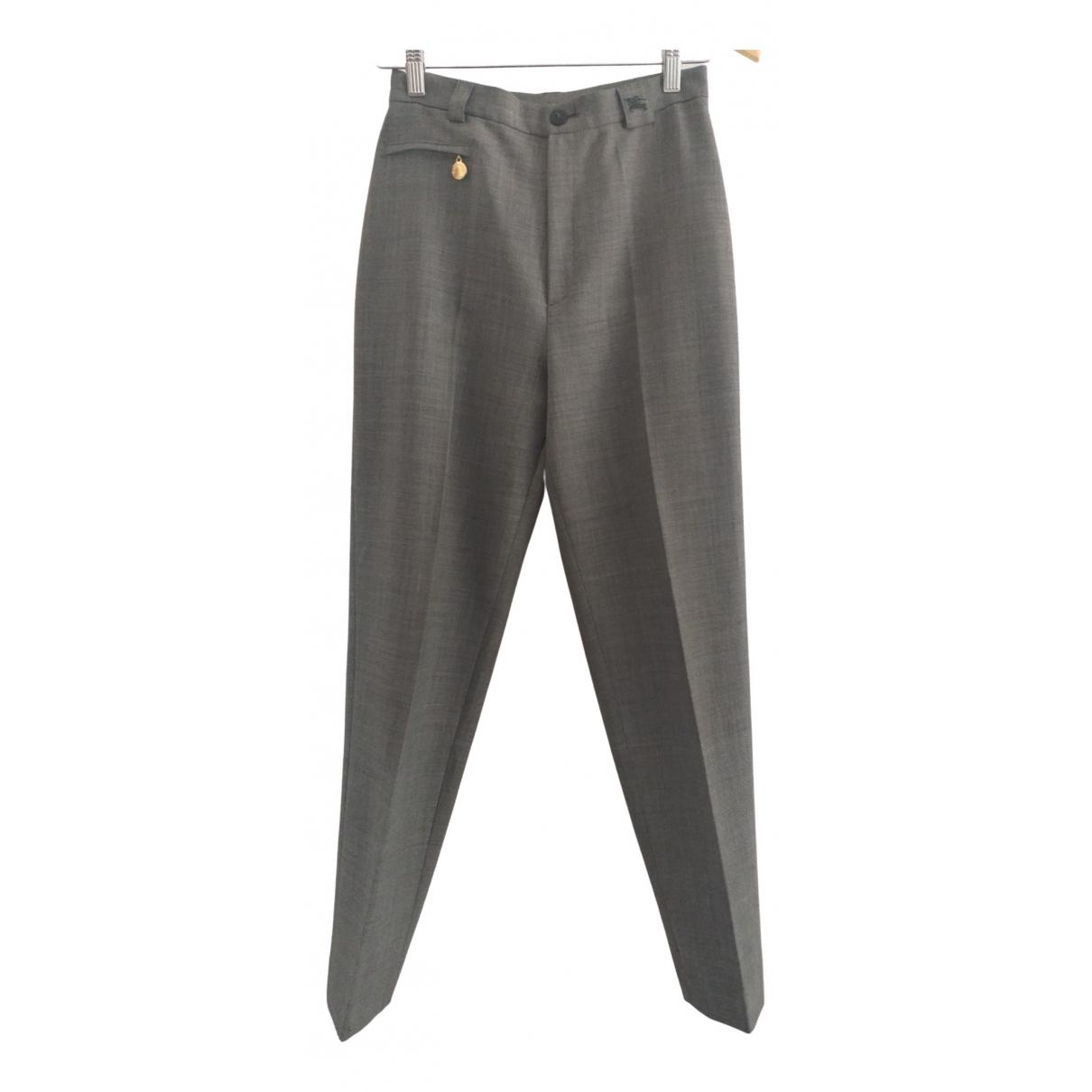 Burberry - Pantalon   pour femme - gris
