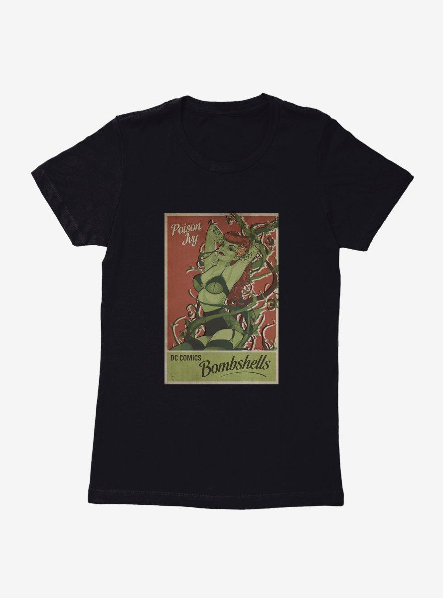 DC Comics Bombshells Poison Ivy Pin Up Womens T-Shirt