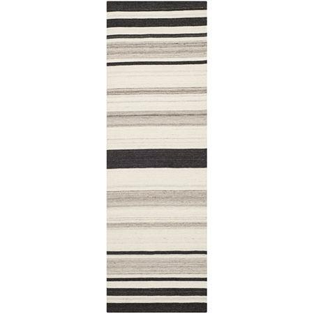Safavieh Santana Hand Woven Flat Weave Area Rug, One Size , White