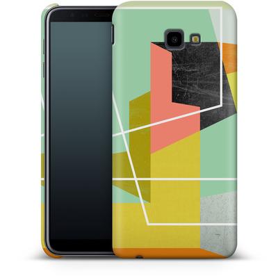Samsung Galaxy J4 Plus Smartphone Huelle - Color Block II von Susana Paz