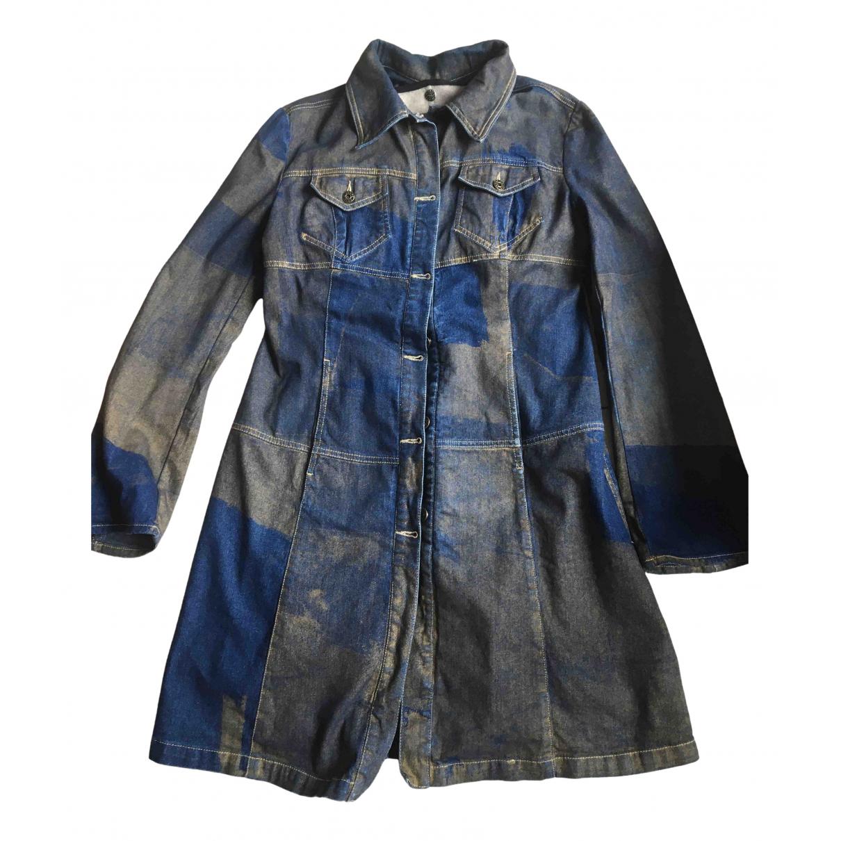 Krizia - Veste   pour femme en denim - bleu